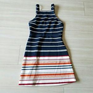 Abercrombie striped mini dress XS